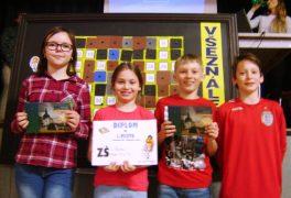 Žáci 5. B uspěli v okresním kole vědomostní soutěže VŠEZNÁLEK 2017
