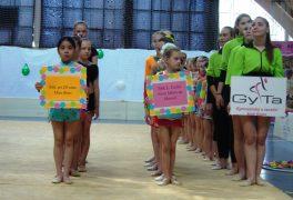 Postup na Mistrovství ČR v moderní gymnastice