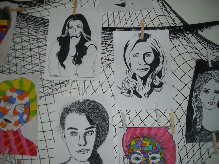 Galerie výtvarných prací žáků naší školy