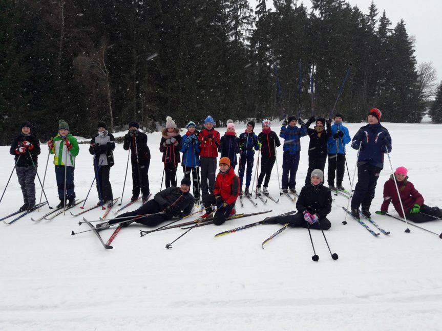 Lyžařský výcvik v 7. ročníku