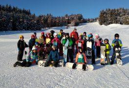 Výcvik na snowboardu – ŠSK