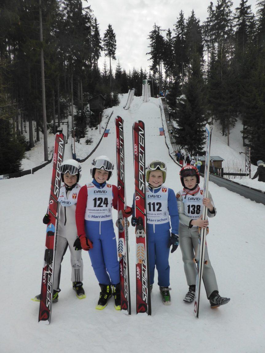 Zimní sezóna našich sportovců