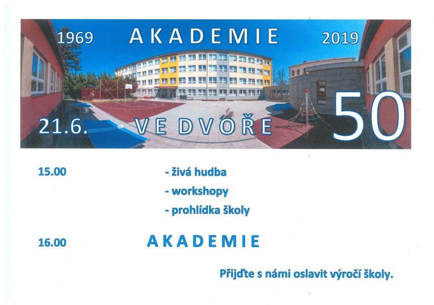 50. výročí školy – Akademie