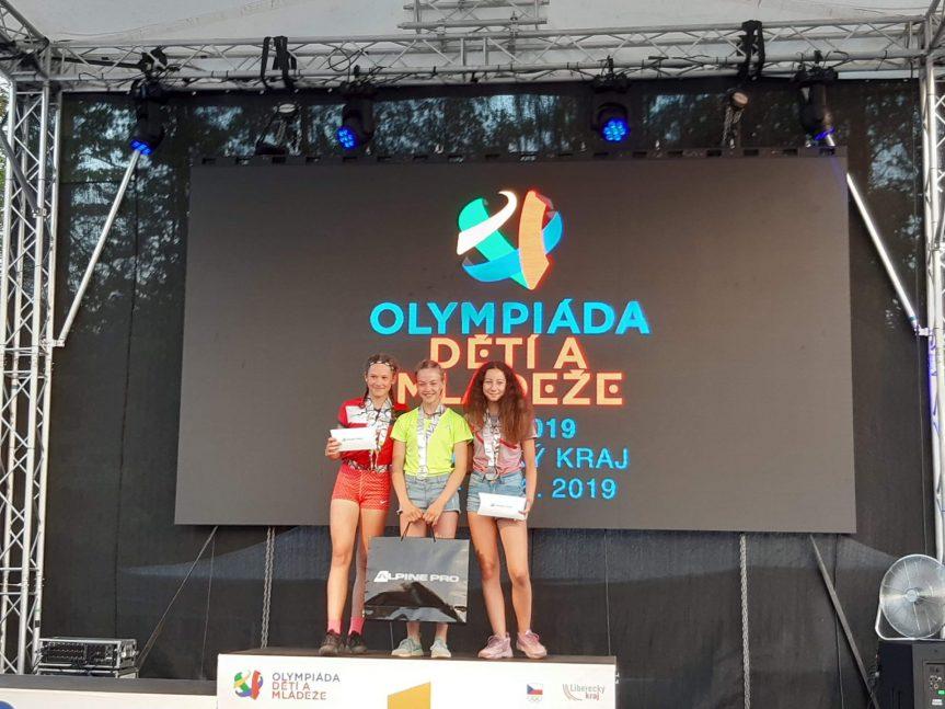 Úspěch na letní Olympiádě dětí a mládeže
