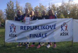 Účast na republikovém finále v přespolním běhu