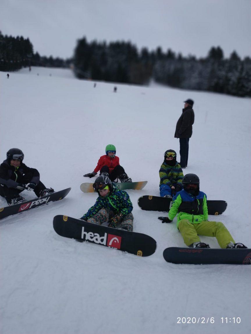 Zimní aktivity ŠSK