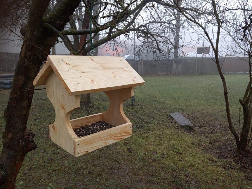 Krmítka pro ptáčky od prvňáčků