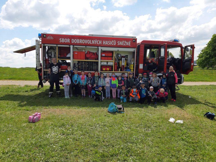 Den dětí s hasiči